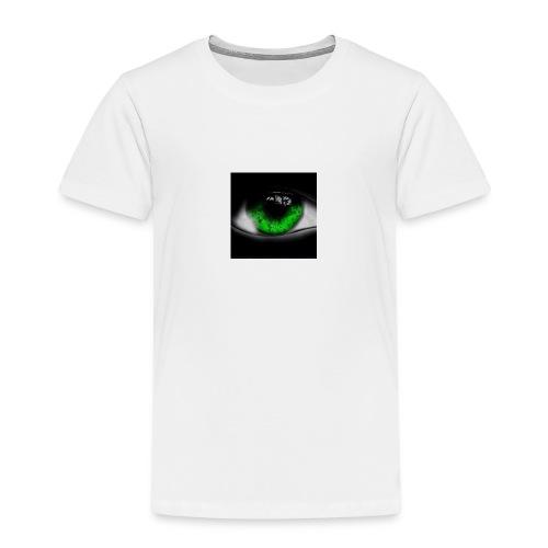 Green eye - Kids' Premium T-Shirt