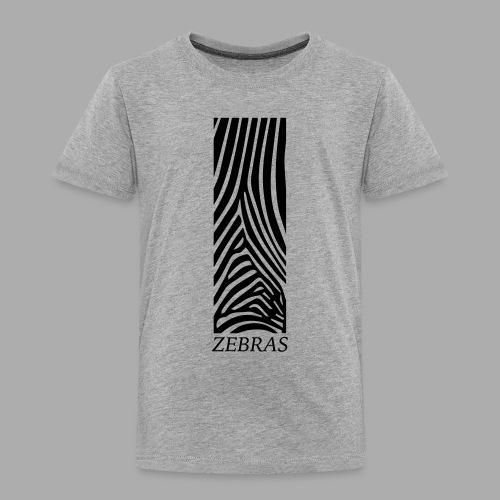 zebras - Kids' Premium T-Shirt
