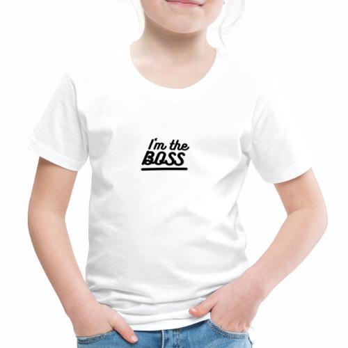 BOSS - T-shirt Premium Enfant