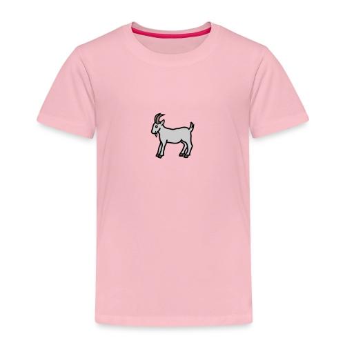 Ged T-shirt dame - Børne premium T-shirt