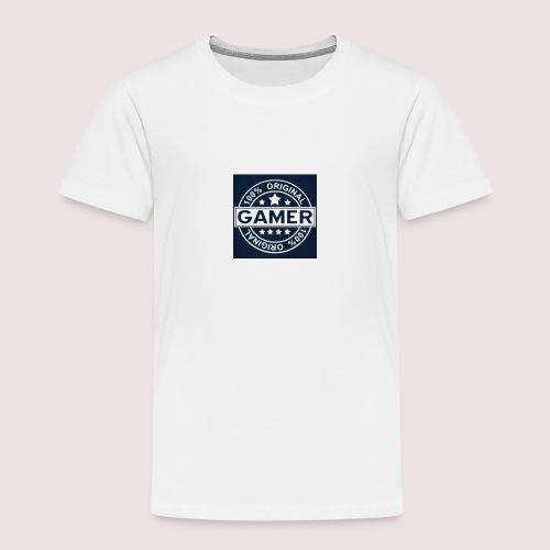 Gamer Logo - Kinder Premium T-Shirt