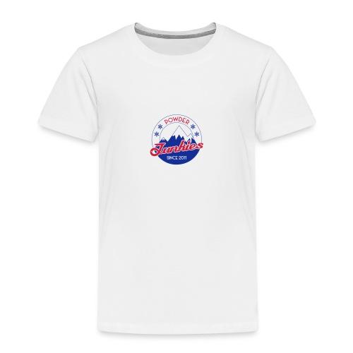 PJ logo pieni - Lasten premium t-paita