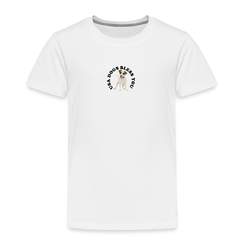 USA Dogs Bless You - Kids' Premium T-Shirt