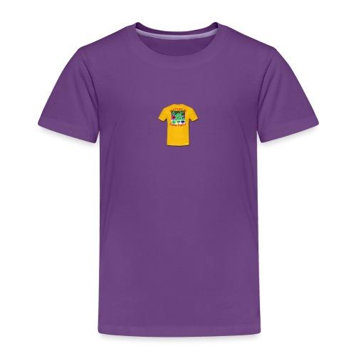 Castle design - Børne premium T-shirt