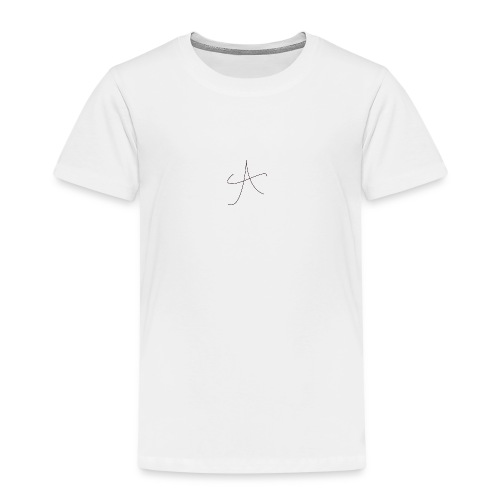 cool A PNG - Kids' Premium T-Shirt