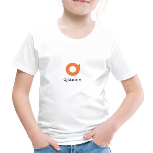 DJSACCO LOGO - Maglietta Premium per bambini
