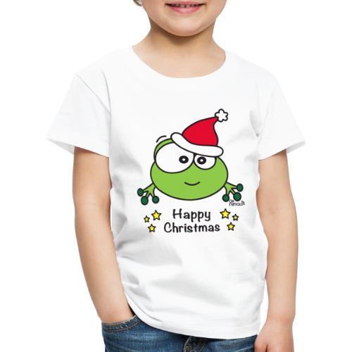 Grenouille, Frog, Fêtes Nôel, Happy Christmas - T-shirt Premium Enfant