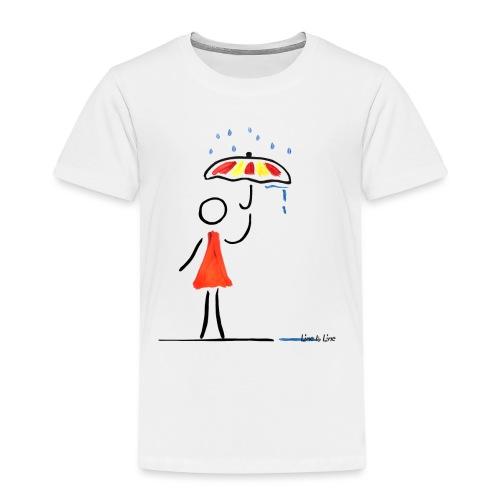schönes Regenwetter - Kinder Premium T-Shirt