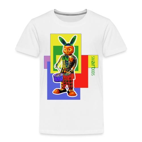 smARTkids - Slammin' Rabbit - Kids' Premium T-Shirt