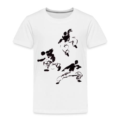 3 kungfu - Kids' Premium T-Shirt