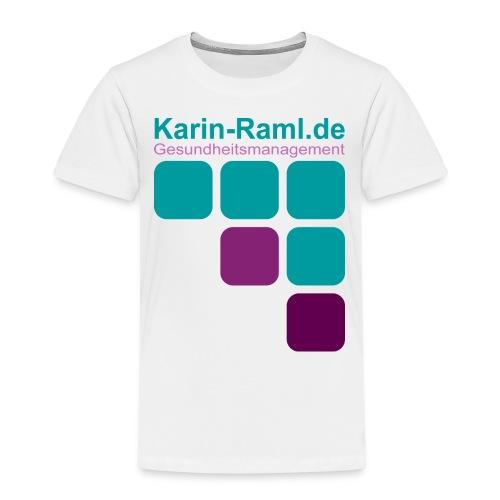 Karin-Raml Gesundheitsmanagement - Kinder Premium T-Shirt