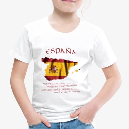 Spain Flag Bandera España - Kinder Premium T-Shirt