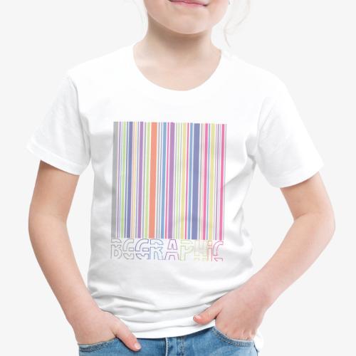 Bar code - Maglietta Premium per bambini