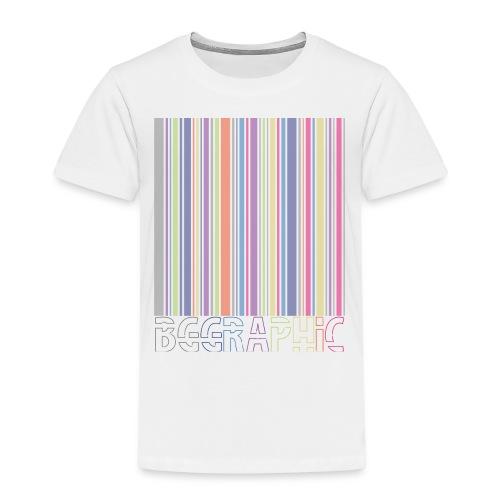Bar code - Koszulka dziecięca Premium