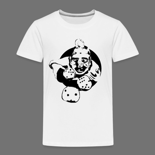Professional Gambler (1c musta) - Lasten premium t-paita