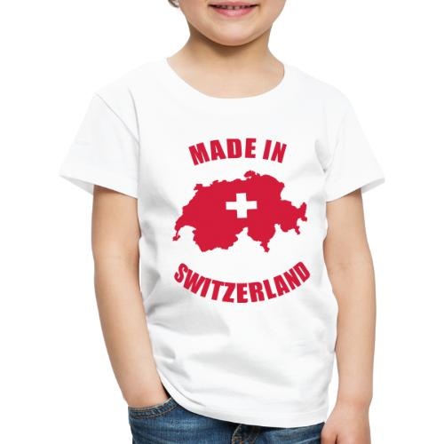 Made in Switzerland - Kinder Premium T-Shirt