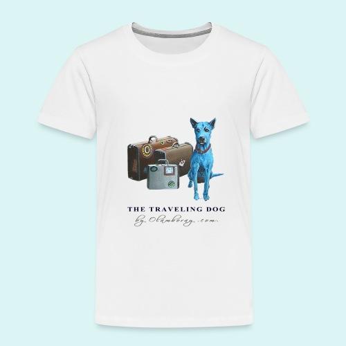 Laly Blue Big - Kids' Premium T-Shirt