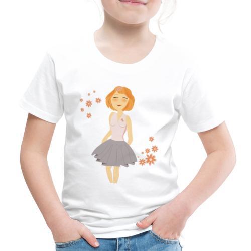 roodharig meisje - T-shirt Premium Enfant