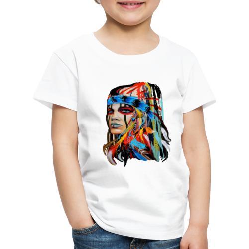 Pióra i pióropusze - Koszulka dziecięca Premium