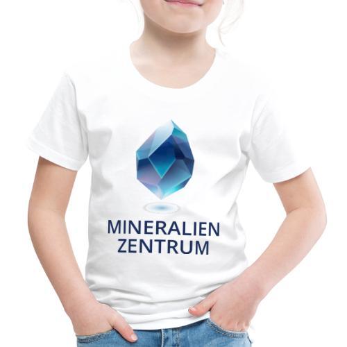 Mineralienzentrum Logo Blau - Kinder Premium T-Shirt