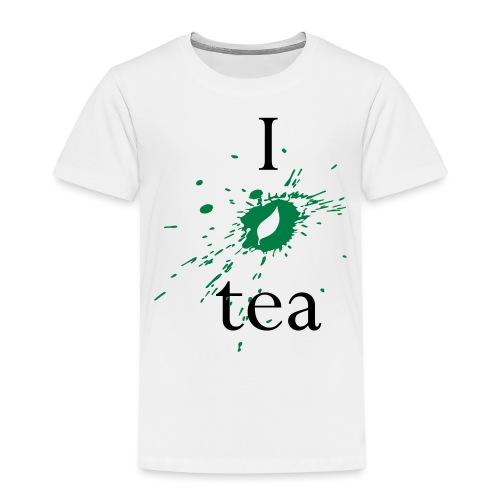 I Love Tea - Maglietta Premium per bambini