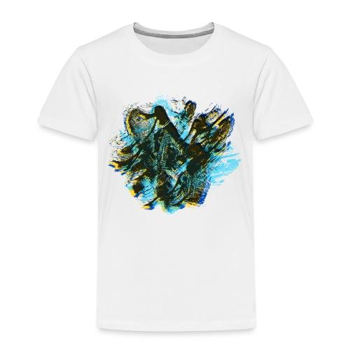 odciski palców - Koszulka dziecięca Premium