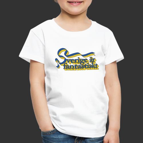 Sverige är fantastiskt - Premium-T-shirt barn