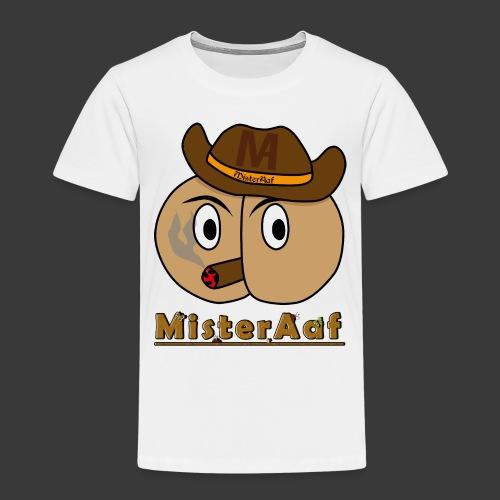 MisterAaf Logo png - Kinder Premium T-Shirt
