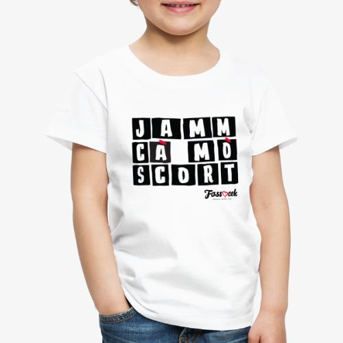 Jamm cà mò Scort - Maglietta Premium per bambini