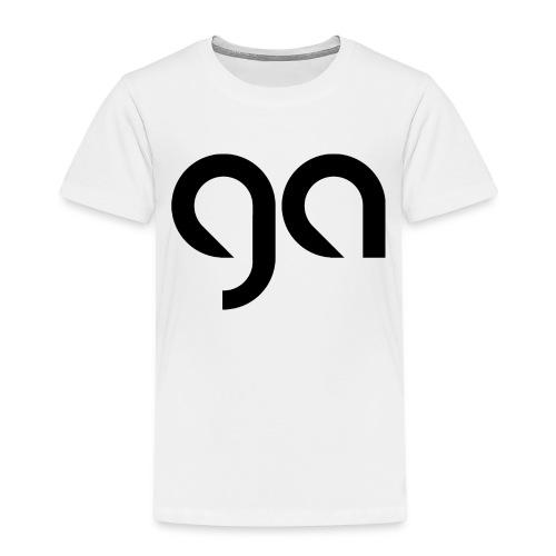 Logo Gymnasium Altlünen schwarz - Kinder Premium T-Shirt