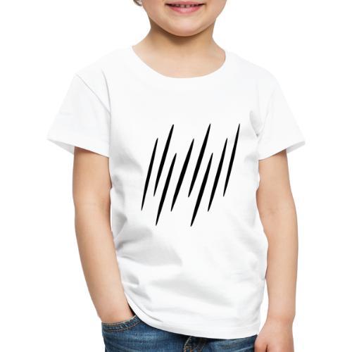 Kleine Schwarze Streifen - Kinder Premium T-Shirt