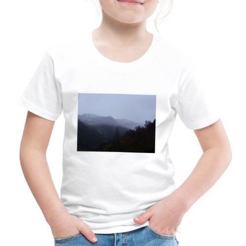 Collina con neve - Maglietta Premium per bambini