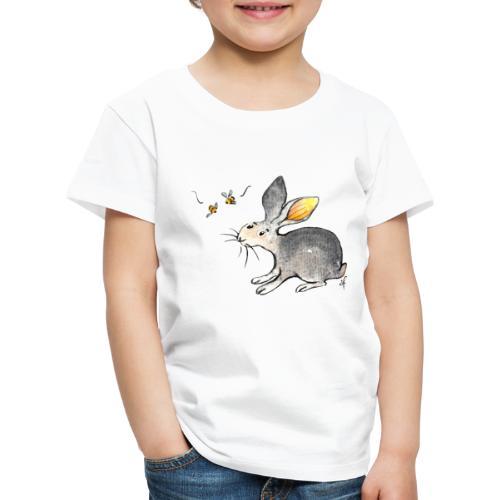 Der kleine Hase schaut sich um. - Kinder Premium T-Shirt