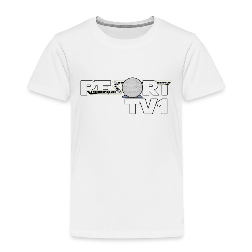 ResortTV1 Logo - Kids' Premium T-Shirt