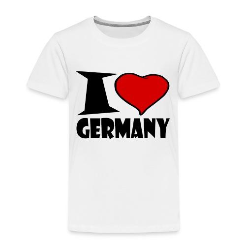 Ich Liebe Deutschland - Germany - Kinder Premium T-Shirt