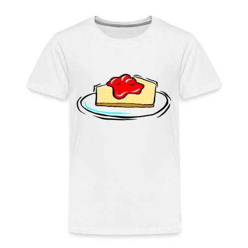 cheesecake clipart biyB9B9iL png - Kids' Premium T-Shirt