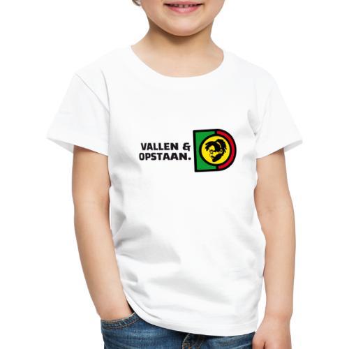 Vallen en opstaan. - Kids' Premium T-Shirt