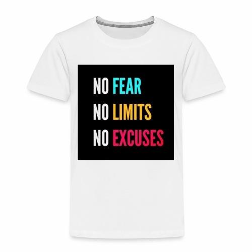 NO FEAR - Premium-T-shirt barn