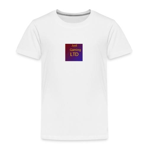 JustGamingLTD-png - Kinderen Premium T-shirt
