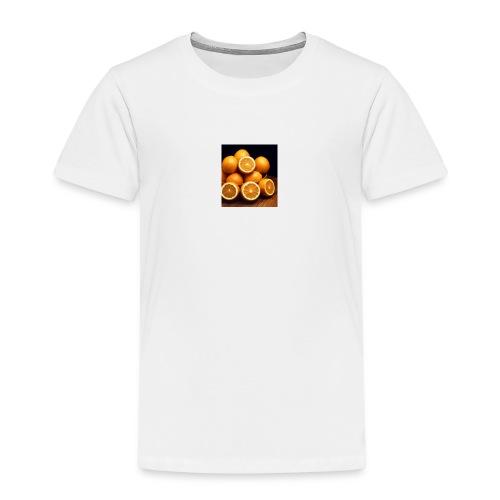 oranges - Kinder Premium T-Shirt