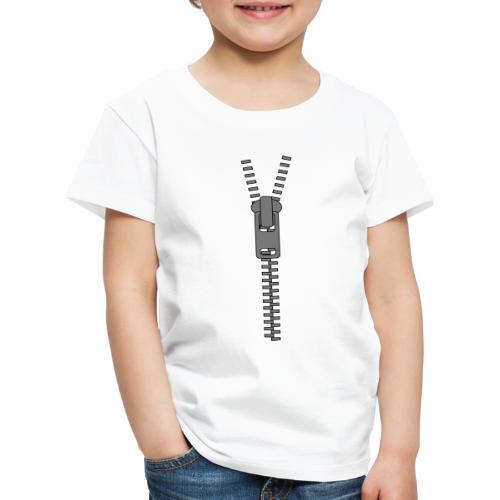 Zipper - Reissverschluss - Kinder Premium T-Shirt