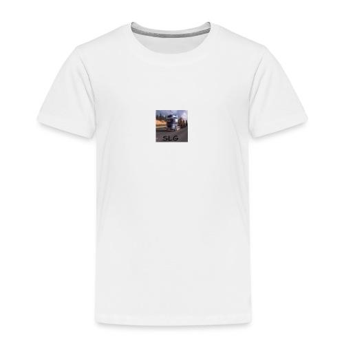 SLG Logo 2 - Kinderen Premium T-shirt