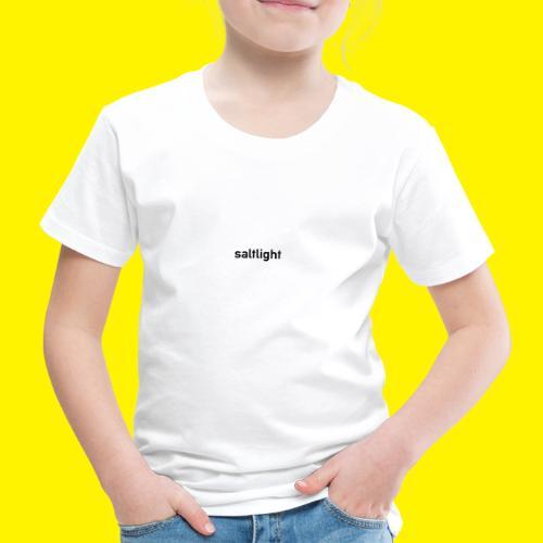 Saltlight // Black - Black - Kids' Premium T-Shirt