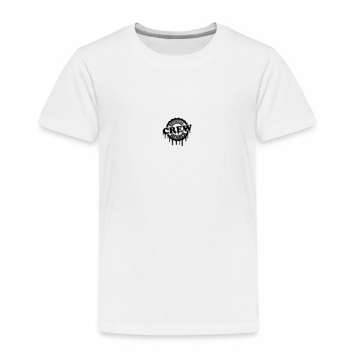 cool official crew member stamp design - Kinderen Premium T-shirt