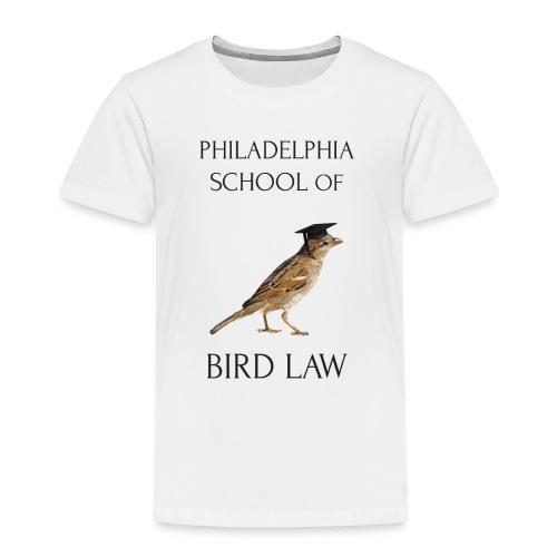 Philadelphia School of Bird Law - Kids' Premium T-Shirt