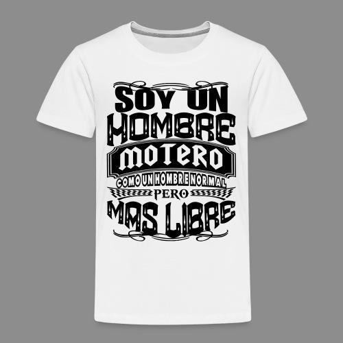 Soy un hombre motero - Camiseta premium niño