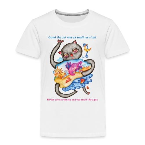 Killingen Gumi - Eventyr Kæledyr Kat Killing - Børne premium T-shirt