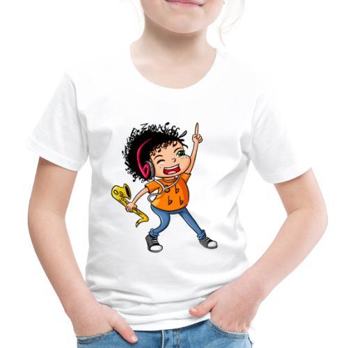BE Feliz Color - Camiseta premium niño