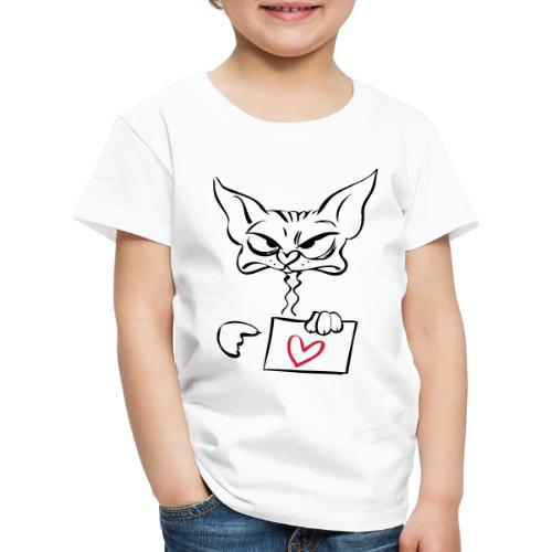 Love is the answer! - Kinder Premium T-Shirt