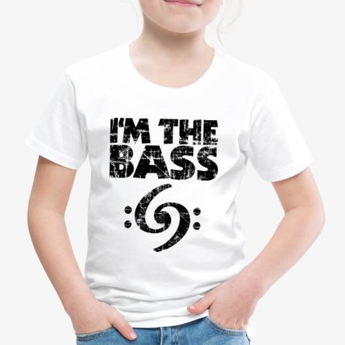 I'm the Bass 69 Vintage Black - Kinder Premium T-Shirt